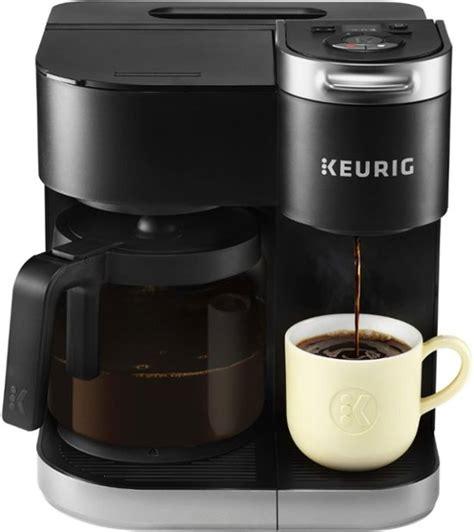 Of 10 *see offer details. Keurig K-Duo Single-Serve & Carafe Coffee Maker Black 5000204977 - Best Buy