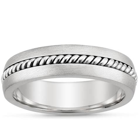 entwined wedding rings entwined inlay ring in 18k white gold