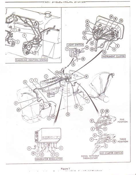 1972 250c Ignition Wiring Diagram by Trouble Finding Wire Harness For A 1973 Ford 3000