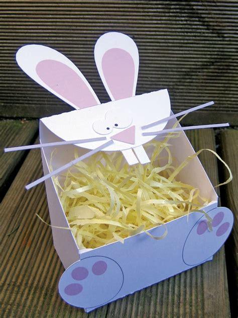 diy deco de table votre boite lapin pour paques gabarit