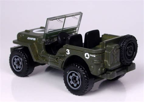 jeep matchbox mb784 jeep willys 2009 el garaje matchbox