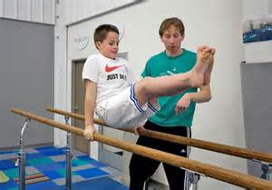 Boy Gymnastics Gym
