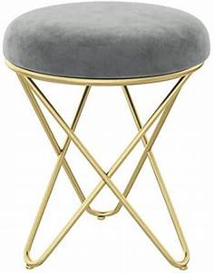 Amazon, Com, Nordic, Leather, Art, Round, Stool, With, Iron, Frame, Small, Coffee, Table, Stool, Modern