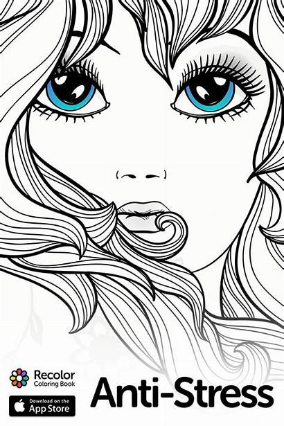 Coloring Pages Adult Recolor Daughter Fun Colouring
