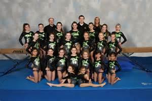 Youth Girls Gymnastics Team