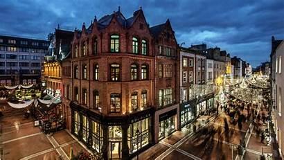Dublin Ireland Street European Buildings Grafton Union