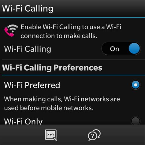 wifi calling android q10 wifi calling app by blackberry for t mobile