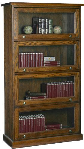 Barristers Bookcase  Solid Wood Furniture Woodcraft