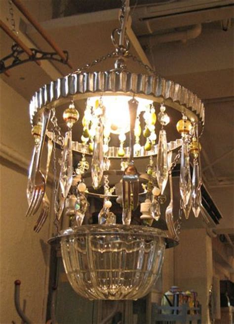 Unique Kitchen Chandeliers by 19 Best Cutlery Chandelier Images On