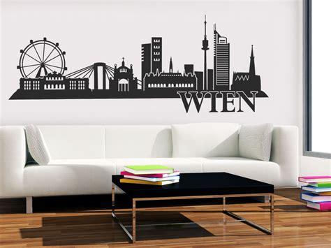 Wandtattoo Kinderzimmer Wien by Stadt Wandtattoo Wien Skyline Wandtattoo Net
