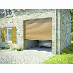 Porte de garage enroulable a tablier aluminium excelis for Tablier porte de garage