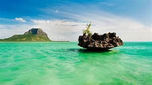 Mauritius, Lagoon, U2013, Bing, Wallpaper, Download