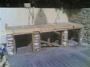 construction plan de travail barbecue pinteres With plan de travail exterieur