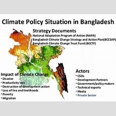 Linking Policy And Practice In Climate Change Actions In Bangladesh