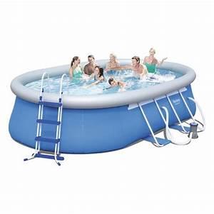 Piscine En Kit Pas Cher : bestway kit piscine autoportante ovale 4 88x3 05x1 07 m achat vente piscine kit piscine ~ Melissatoandfro.com Idées de Décoration