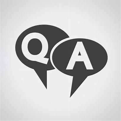 Answer Question Icon Vector Symbol Qa Mark