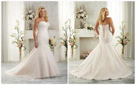 Trumpet Sweetheart Lace Wedding Dress Plus Size Bridal