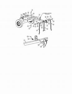 Swisher Model Ls12534h Log Splitter Genuine Parts