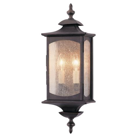feiss market square 2 light rubbed bronze outdoor wall