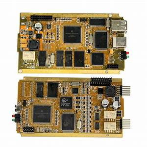 Obdexpress Co Uk  Renault Can Clip Programming   Yellow Pcb Vs Green Pcb