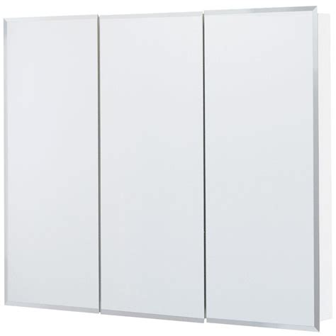 double wide medicine cabinet glacier bay 36 in x 29 in frameless surface mount