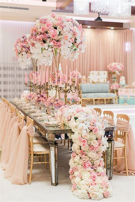 42 Glamorous Rose Gold Wedding Decor Ideas Wedding