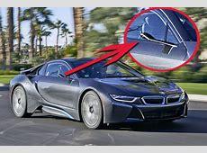 BMW i8 Mirrorless CES 2016 Fahrbericht autobildde