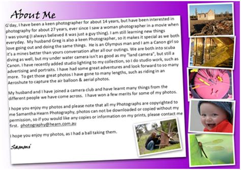 about me page template how to create an about me page on wptemplate