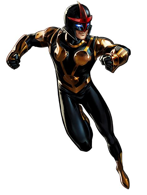 image nova portrait art png marvel avengers alliance