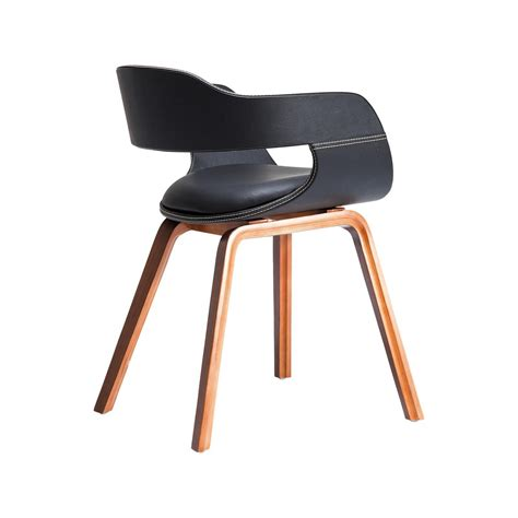 chaise kare design chaise en bois costa walnut kare design