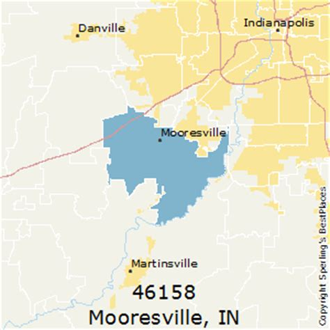 places    mooresville zip  indiana