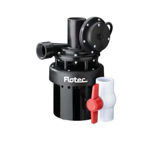 under sink utility pump flotec 1 4 hp utility sink pump fpus1860a the home depot