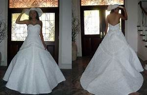 unique look for your wedding night toilet paper wedding With how to make a wedding dress out of toilet paper
