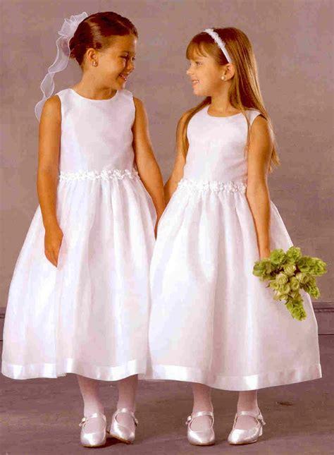 flower girl dress mass luxury wedding
