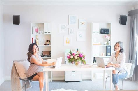Crisp And Chic Office Tour With Future Mrs. Planner