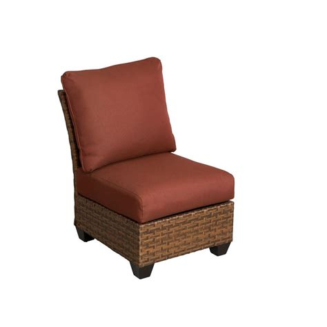 hton bay tobago armless middle patio sectional chair