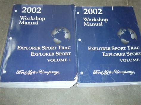 free download parts manuals 2001 ford explorer sport security system 2002 ford explorer sport trac service shop repair manual set factory 02 books ebay