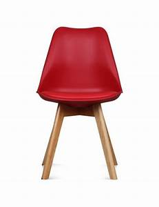 Chaise Scandinave Rouge : chaise design scandinave chaise scandinave lilas ~ Teatrodelosmanantiales.com Idées de Décoration