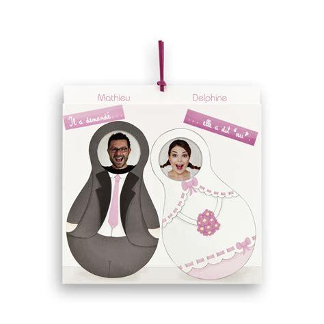 faire part mariage humoristique 3 faire part de mariage mari 233 s en poup 233 es russes jr 133