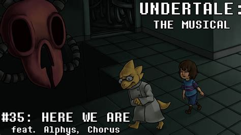 Undertale The Musical  Here We Are Youtube