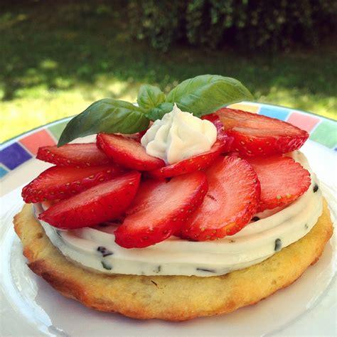 cuisine mascarpone tarte fraises mascarpone et basilic papa en cuisine