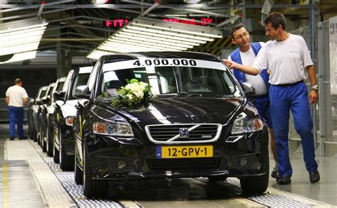 million volvo cars built  ghent plant