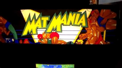 mat mania arcade for sale mat mania arcade cabinet artwork gameplay 80 s