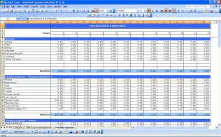 Excel Templates For Expenses Household Expenses Excel Templates