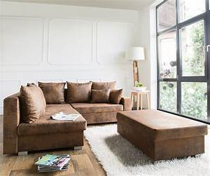 Ecksofa Links : couch lavello braun 210x210 antik optik ottomane links ~ Pilothousefishingboats.com Haus und Dekorationen