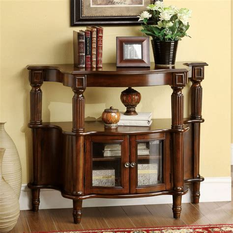 furniture  america georgia classic antique walnut