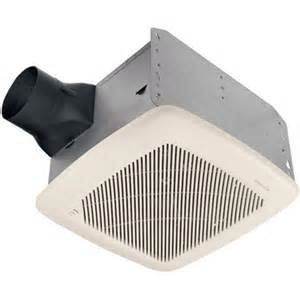 Humidity Sensing Bathroom Fan Wall Mount by 100 And 110 Cfm Humidity Sensing Exhaust Fans By Broan