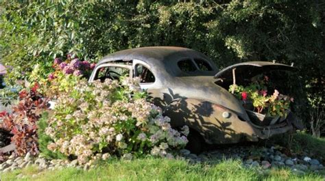 repurposed cars outdoors outdoorthemecom