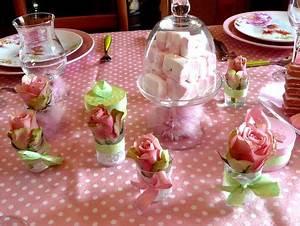 Deco Bonbon Anniversaire : table rose bonbon deco de tables ~ Melissatoandfro.com Idées de Décoration