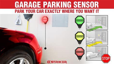 striker garage parking sensor youtube